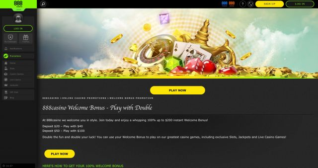 888 Casino Preview