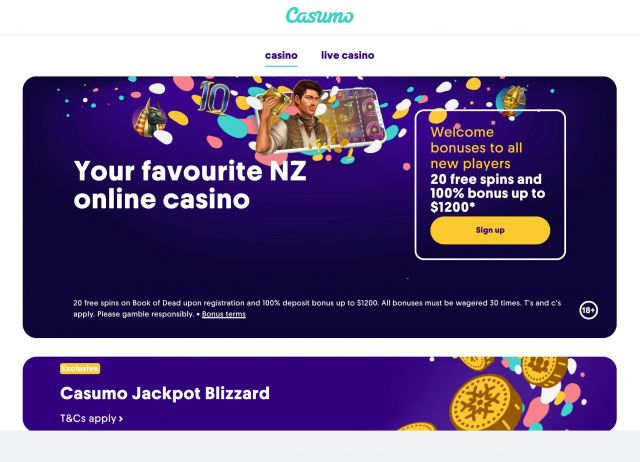 Casumo Casino Preview