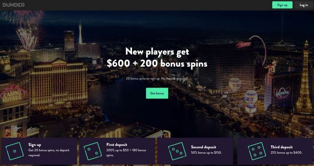 Dunder Casino Preview