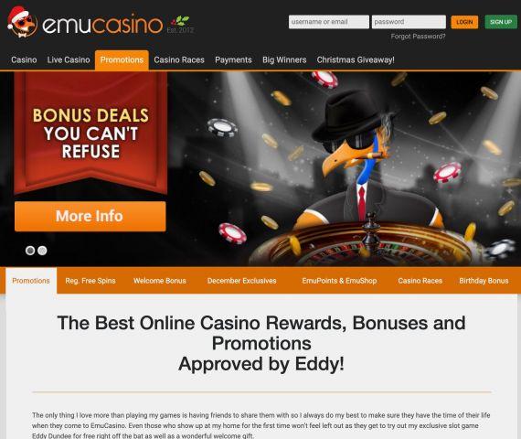 Emu Casino Preview