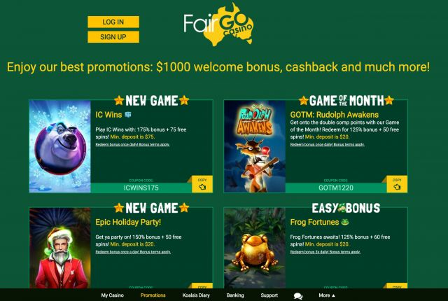 Fair Go Casino Preview