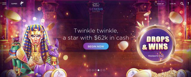 Genesis Casino Preview