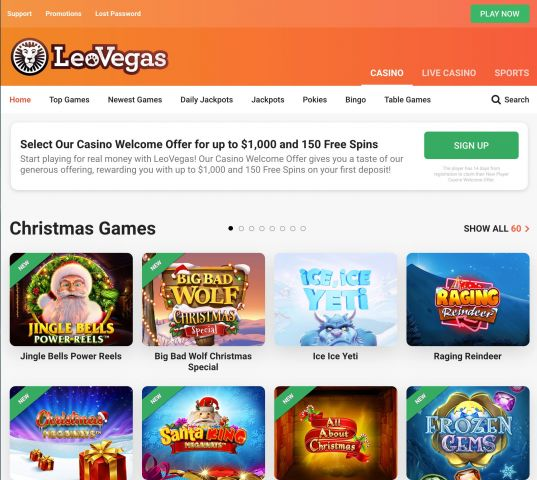 Leo Vegas Casino Preview