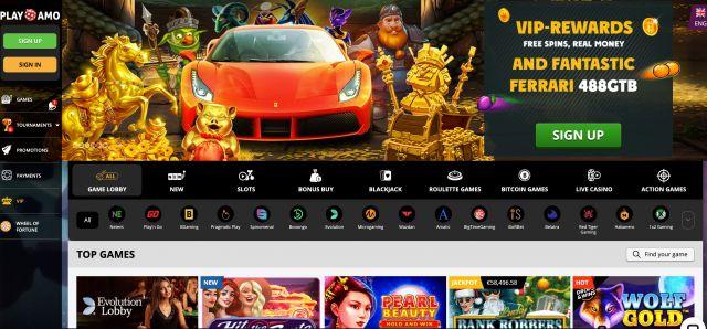 PlayAmo Casino Preview
