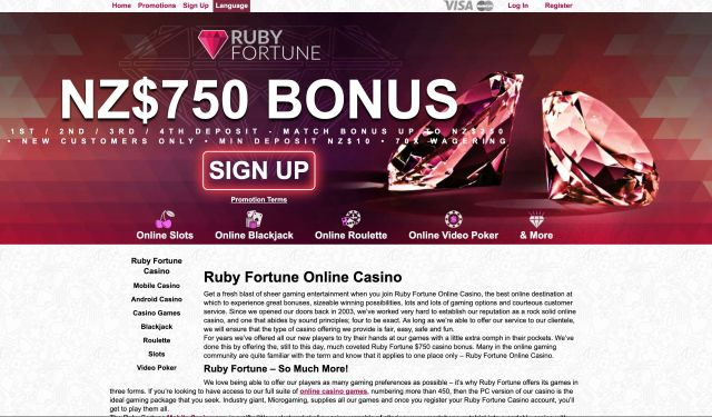 Ruby Fortune Preview