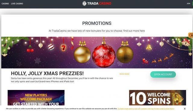 Trada Casino Preview