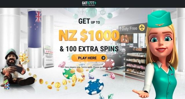 NZ$100 & 100 Extra Spins